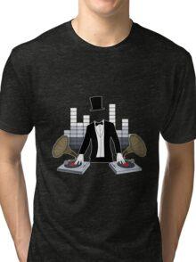 DJ Gramophone Tri-blend T-Shirt