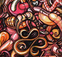 ink doodle III by Sam Dantone