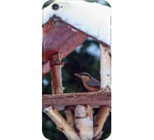 My little friend in the cafeteria iPhone Case/Skin