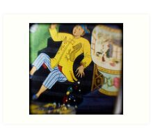 out off the book arabian nights published 1946 -TTV Art Print