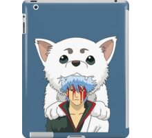 Gintoki and Sadaharu Tshirt iPad Case/Skin