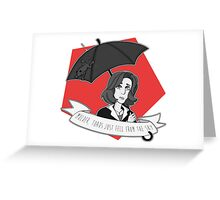 Toads Mulder!  Greeting Card