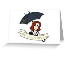 Toads Mulder! V2 Greeting Card