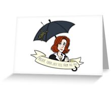 Toads Mulder! V2 Greeting Card