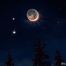 Moon and Planets by Brad Collins