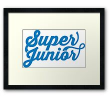 Super Junior Framed Print