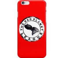 The Red Planet League iPhone Case/Skin