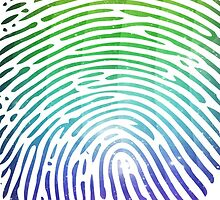 Rainbow Fingerprint by RAJEK
