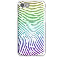 Rainbow Fingerprint iPhone Case/Skin