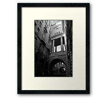 Arch in Green Park Framed Print