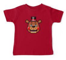 Five Nights at Freddy's 2 - Pixel art - Blue eyes Toy Freddy Baby Tee