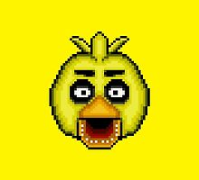 Five Nights at Freddy's 1 - Pixel art - Chica by GEEKsomniac