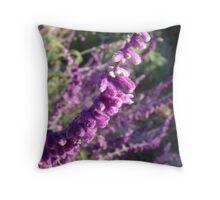 Purple Pleasures Throw Pillow