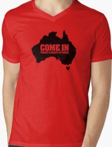 F@#k off, bogans /alternate Mens V-Neck T-Shirt
