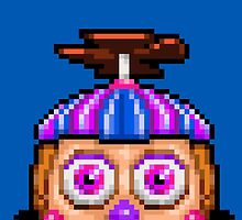Five Nights at Freddy's 2 - Pixel art - Balloon Girl by GEEKsomniac