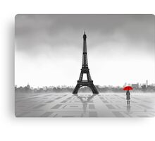 Paris (Vectorillustration) Canvas Print