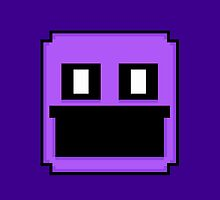 Five Nights at Freddy's 2 - Pixel art - Purple Man by GEEKsomniac