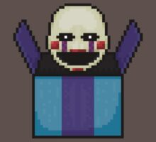 Five Nights at Freddy's 2 - Pixel art - The Puppet in the box Baby Tee