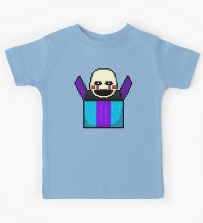 Five Nights at Freddy's 2 - Pixel art - The Puppet in the box Kids Tee