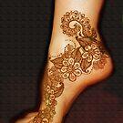 "Henna Tattoo Work ""A"", by bajidoo by bajidoo"