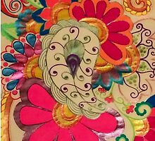 Flower and Paisley Brightness by CreativInspire