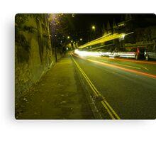 Attractive Traffic Canvas Print