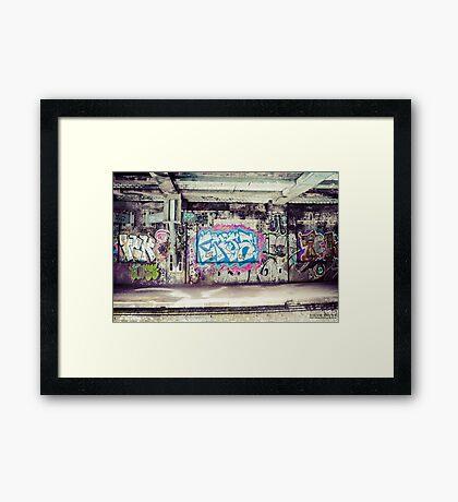 Tag Framed Print