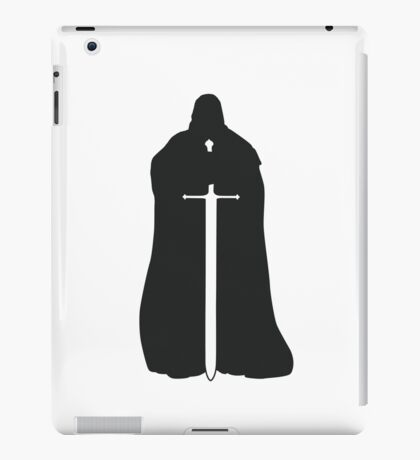 Eddard Stark - Game of Thrones silhouette iPad Case/Skin