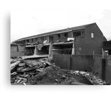 Under Demolition Canvas Print