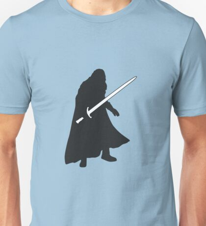 Jon Snow - Game of Thrones Silhouette Unisex T-Shirt