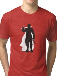 Jaime Lannister Kingslayer - Game of Thrones Silhouette Tri-blend T-Shirt