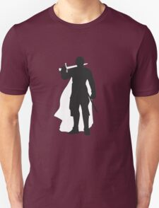 Jaime Lannister Kingslayer - Game of Thrones Silhouette Unisex T-Shirt