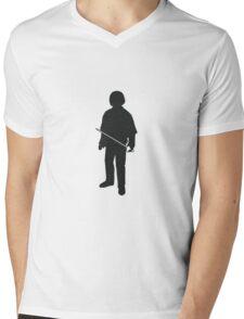 Arya Stark  - Game of Thrones Silhouette Mens V-Neck T-Shirt