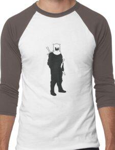 The Hound - Game of Thrones Silhouette Men's Baseball ¾ T-Shirt