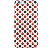 Raining Ladybugs iPhone Case/Skin