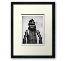 Zombie J Framed Print