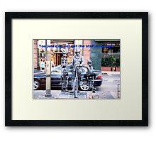 Skeleton Crew Framed Print
