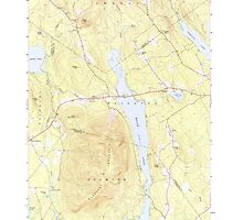 Maine USGS Historical Map Pleasant Mtn 460754 1963 24000 by wetdryvac