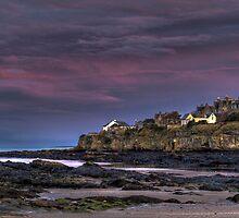 Dusk, St. Andrews, Scotland by nezihc