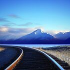 Turnagain Arm, Alaska by Betterphotoart