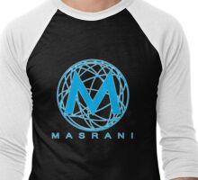 Masrani Blue 2 Men's Baseball ¾ T-Shirt