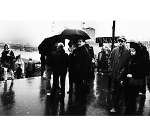 rain rain go away, come back on another day Photographic Print