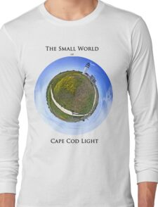 The Small World of Cape Cod Light Long Sleeve T-Shirt