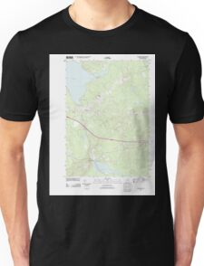 Maine USGS Historical Map Plymouth 20110906 TM Unisex T-Shirt