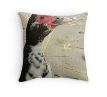 Muscovy Portrait Throw Pillow