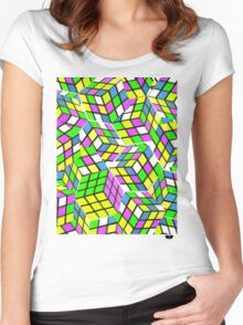 Rubix Women's Fitted Scoop T-Shirt