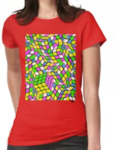 Rubix Womens Fitted T-Shirt