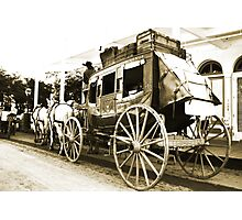Wells Fargo Stage Coach Photographic Print