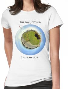 The Small World of Chatham Light Womens Fitted T-Shirt