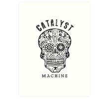 "Catalyst Machine ""GEARHEAD"" Art Print"